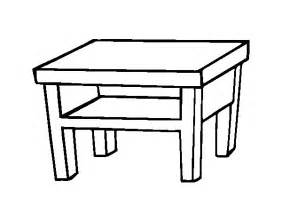 living room table coloring page coloringcrew com