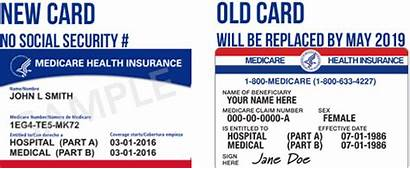 Medicare Card Cards Medicaid Number Security Social