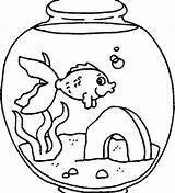 Fish Coloring Tank Pages Lonely Feeling Drawing Clipart Fishes Tiger Cat Template Simple Getdrawings Netart Whith Drawings Popular Coloringhome Clip sketch template