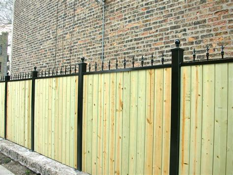 iron and wood fence top 28 iron and wood fence pinterest the world s catalog of ideas privacy fence panels