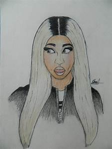 Nicki Minaj 2013 drawing By Nick Art by nicolaspinzon on ...
