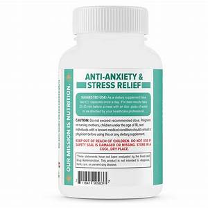 Stress Relief Supplement  U2013stress Support  Anti Anxiety Supplement  U2013 60 Capsules
