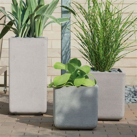 square planters crate  barrel