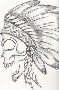 native american skull drawing | Arte | Pinterest | Native ...