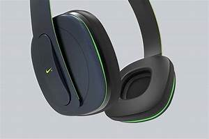 Concept Nike Physical  Wireless Headphones With Built