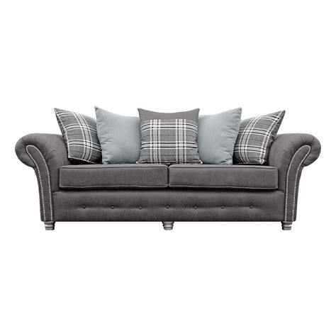 grey leather and fabric sofa grange vintage grey fabric sofa collection