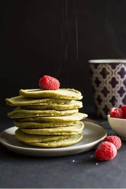 Tea Pancakes Vegan Animated Morning Healthy Lin