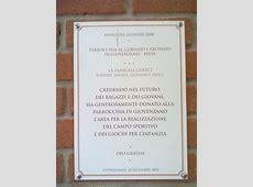 Targa Oratorio laparrocchiainformanet