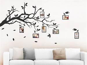 Wandtattoo Mit Bilderrahmen : wandtattoo fotorahmen von designscape ~ Bigdaddyawards.com Haus und Dekorationen