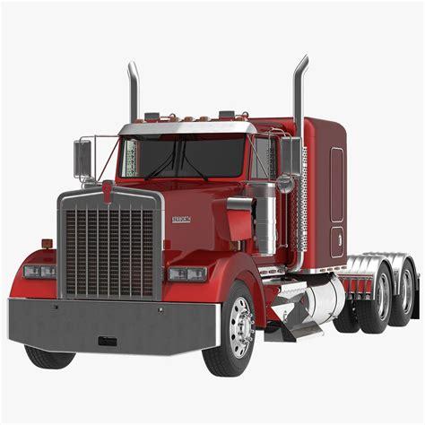 a model kenworth 3dsmax truck w900