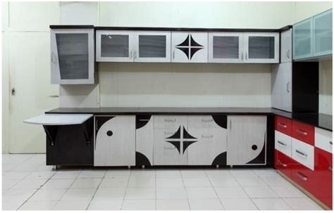 shreeji plast mart pvc kitchen cabinet rs  square