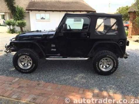 jeep wrangler  spd   kms auto  sale  auto trader south africa youtube