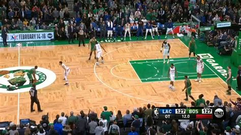 Jayson Tatum misses the potential game winner!!! (Clippers ...