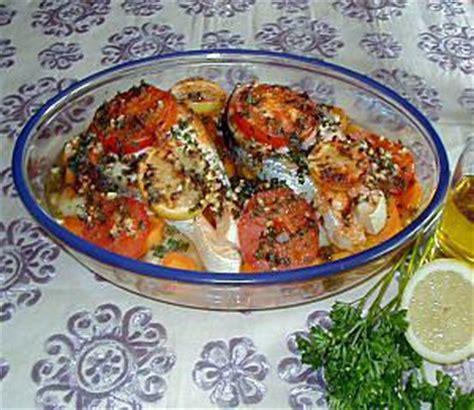 comment cuisiner des patissons recette de poisson au four à la marocaine