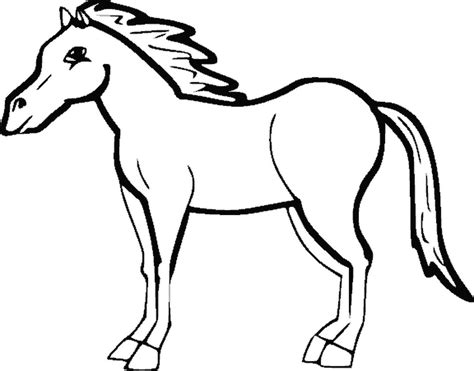 print drawingshapes horse coloring page
