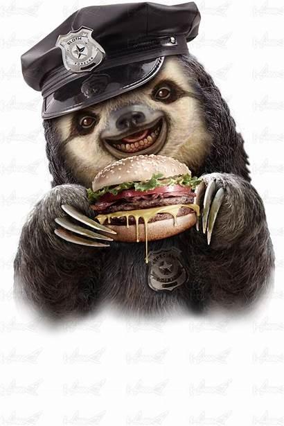 Sloth Burger Lawless Adam Shirts Designed