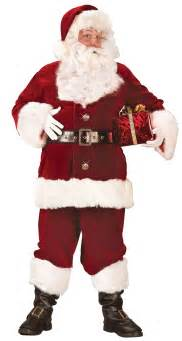 plus size super deluxe santa suit christmas
