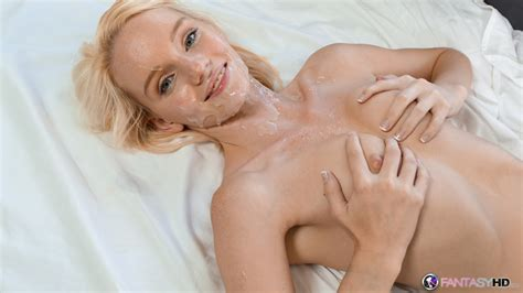 Petite Blue Eyed Beauty Sammie Daniels Has Sex And Takes A Huge Facial Cumshot
