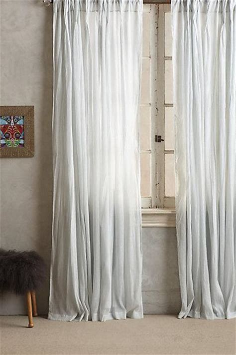 Plum And Bow Ruffle Curtains by Plum And Bow Grey Ruffle Gauze Curtain