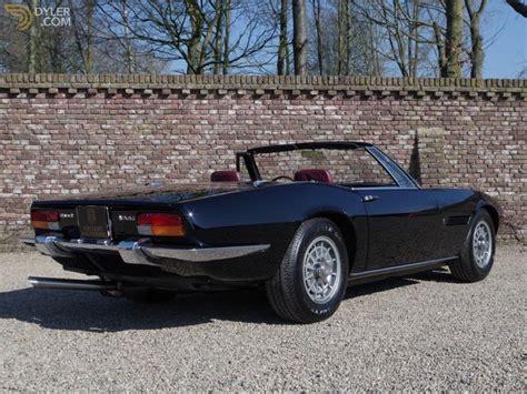 Maserati Ghibli Spyder For Sale by Classic 1968 Maserati Ghibli Spider For Sale 12913 Dyler