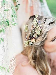20 Wedding Hair Ideas With Flowers Modern Wedding