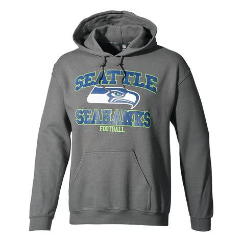 majestic athletic seattle seahawks hoodie treser grau