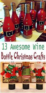 13, Awesome, Wine, Bottle, Christmas, Crafts