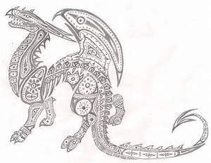 Celtic Dragon by ComplexMagic on DeviantArt