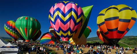 steamboat springs colorado hot air balloon rodeo july