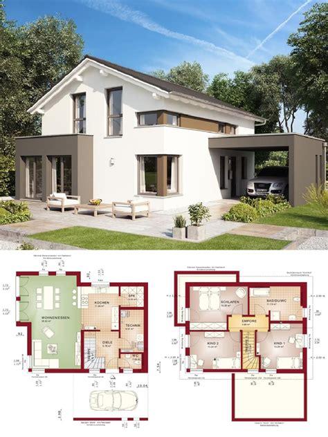 Haus Mit Erker Modern by Modernes Design Haus Mit Satteldach Architektur Erker