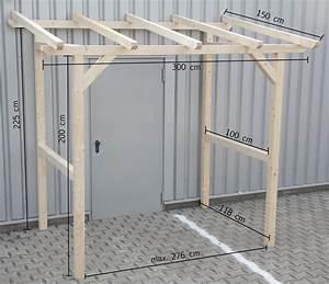 Vorbau Für Hauseingang : vordach vorbau unterstand haust r berdachung holzvordach 3x1 5 m 300x150 cm ebay ~ Sanjose-hotels-ca.com Haus und Dekorationen