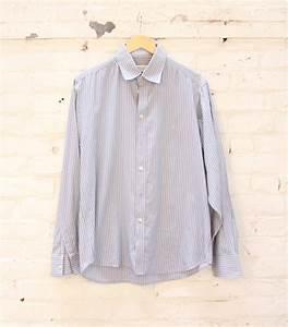 Chemise Yves Saint Laurent : chemise homme vintage yves saint laurent rayures ~ Nature-et-papiers.com Idées de Décoration