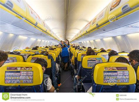 Ryanair Jet Airplanes Interior View. Editorial Image ...