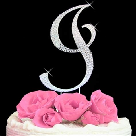 cake topper letters i in fancy letters new calendar template site