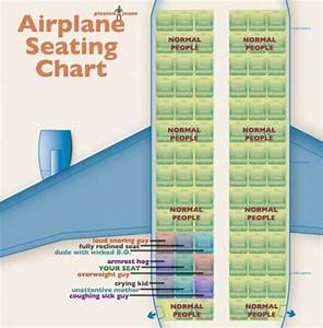 A Real Life Airplane Seating Chart