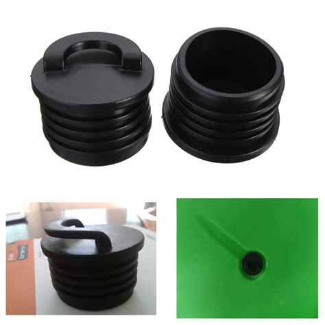 Installing New Boat Drain Plug by 2 X 3 5mm Kayak Marine Boat Scupper Stopper Bungs Drain