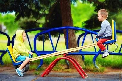 Seesaw Playground Fun