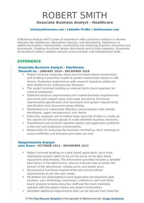 business analyst functional resume ideas 24 business