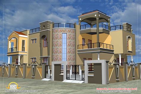 Luxury Indian Home Design With House Plan  4200 Sqft