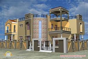 Luxury Indian Home Design With House Plan - 4200 Sq Ft