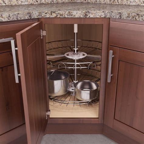 lazy susans for kitchen cabinets vauth sagel recorner susan lazy susan 28 8926