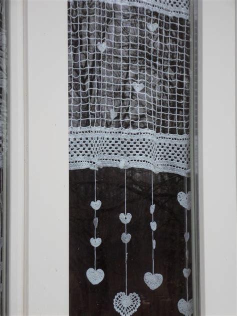 fabrication de rideaux au crochet