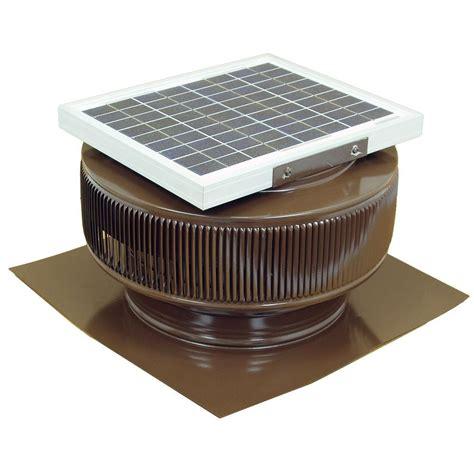 solar fan for house master flow 500 cfm solar powered gable mount exhaust fan