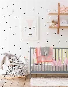 Couleur Chambre Bébé Fille : chambre de b b 25 id es pour une fille elle d coration ~ Dallasstarsshop.com Idées de Décoration