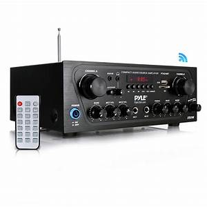 Pyle - Pta24bt - Home And Office - Amplifiers - Receivers - Sound And Recording