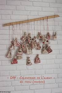 Au Fil Du Tissu : diy calendrier de l 39 avent en tissu durable et r utilisable au fil du thym ~ Melissatoandfro.com Idées de Décoration
