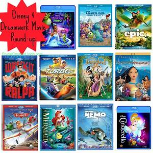 Disney U0026 Dreamworks Movies Round Up Perfect Stocking