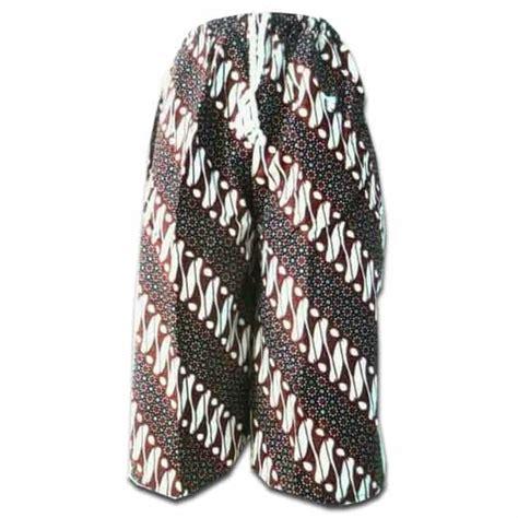 celana kolor kain batik pusaka dunia