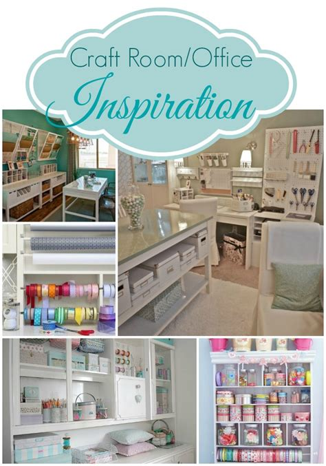 Craft Room Inspiration From Pinterest  All Things Heart