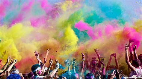 the official colour of the color run nz with resene paints